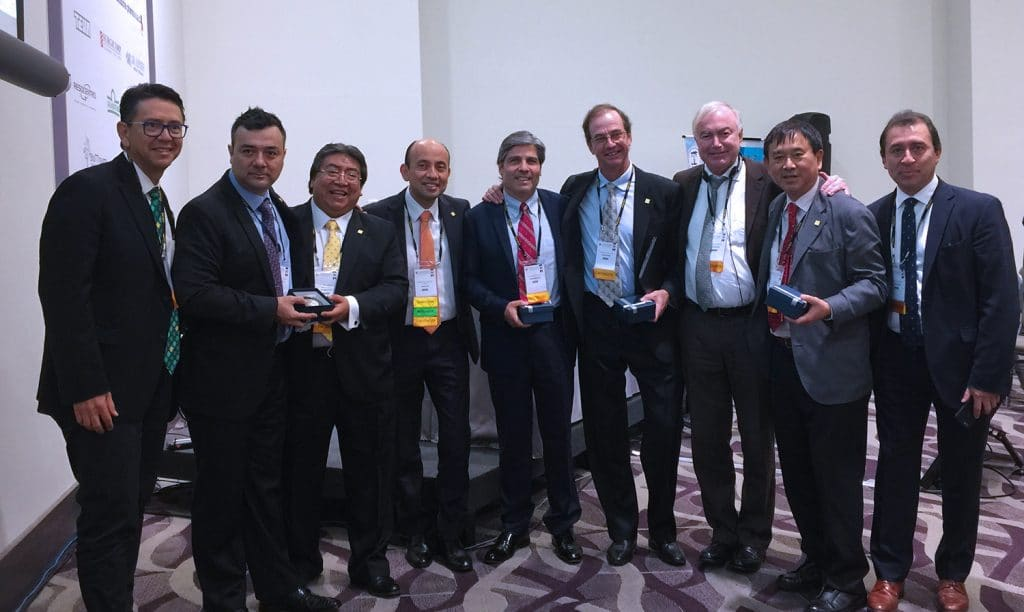 Philippe Neyret in Lima for an Arthroscopic Congress