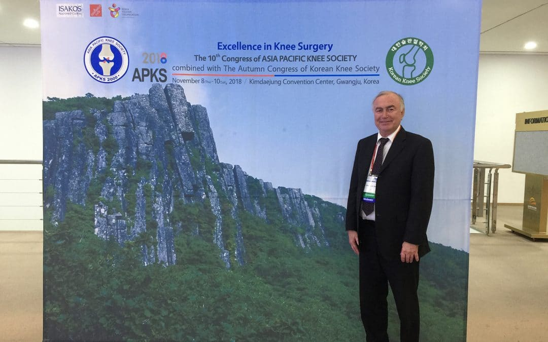 Philippe Neyret invited as a special guess speaker for The 10th Congress of Asia-Pacific Knee Society