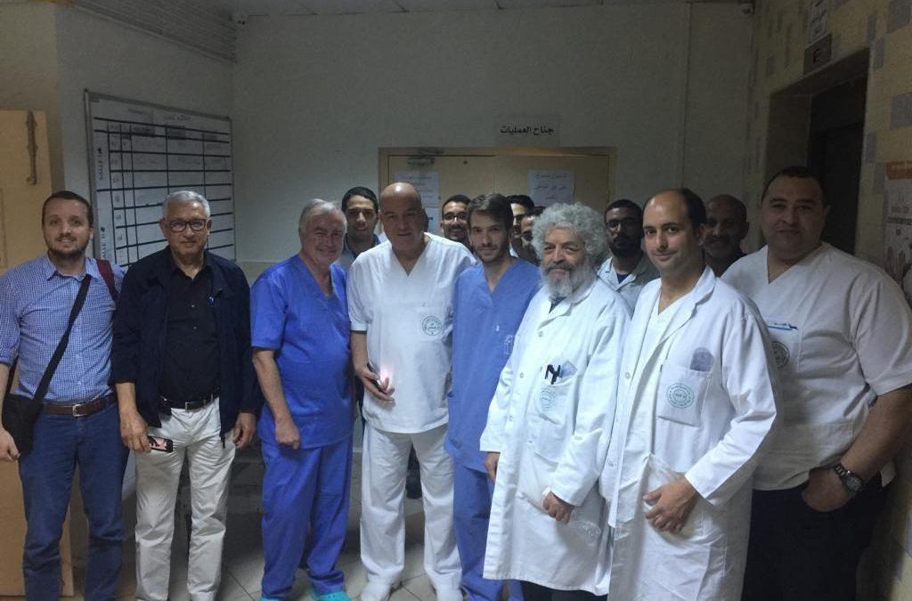 Prof Philippe in Tunis