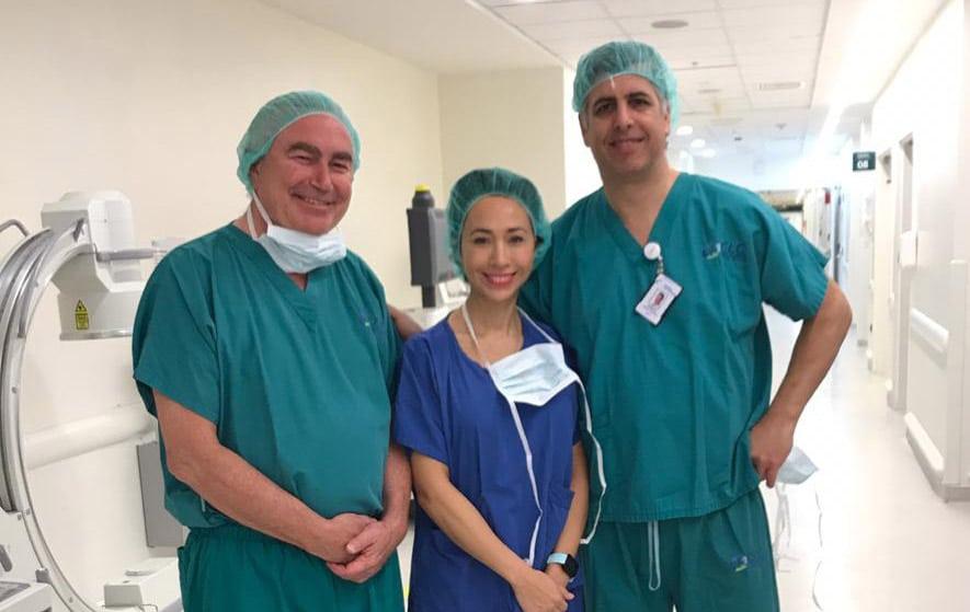 Prof. Philippe in Santiago, Chile