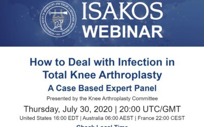 (Webinar) ISAKOS : infection after TKA