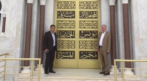 Conferences and surgery with Professor Hamid in Monastir