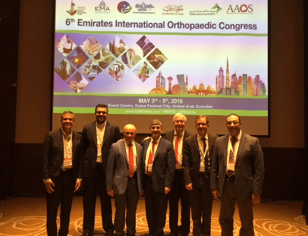Professor Philippe at the 6th Emirates International Orthopaedic Congress
