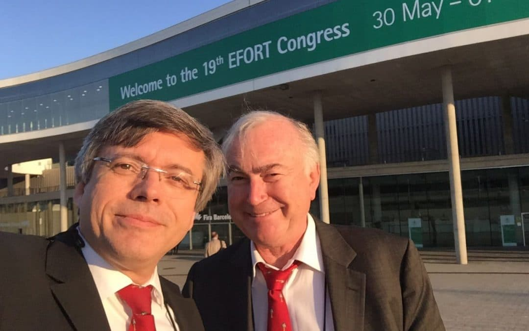 Professor Neyret at the 19th EFORT Congress in Barcelona