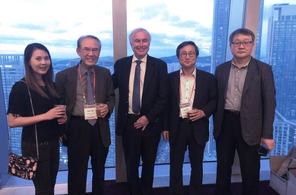 Prof Philippe in August 2018 during the 5th Korea Japanese Knee Osteotomy Symposium