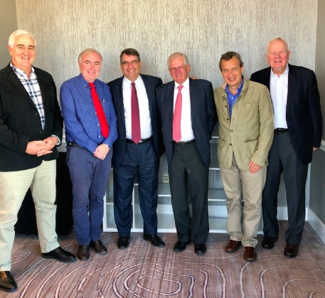 Prof Philippe with the Presidential line of ISAKOS in USA