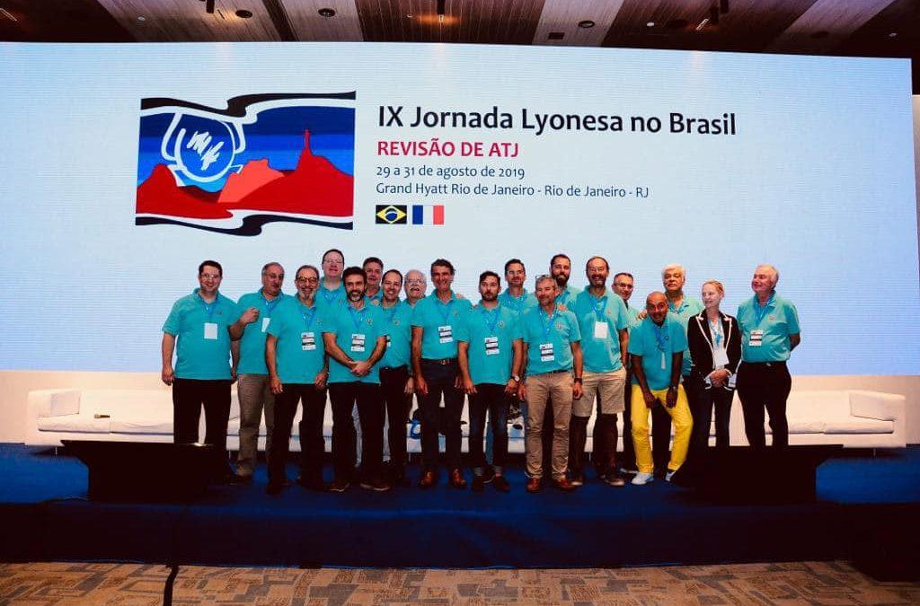 Prof Philippe in Rio de Janeiro with Lyon Knee Surgery